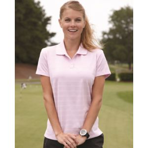Golf Women's ClimaLite® Textured Short Sleeve Polo Thumbnail